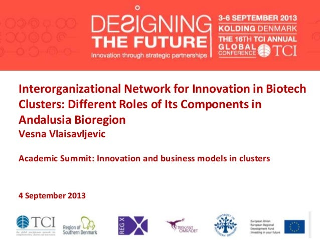 Interorganizational Network for Innovation in Biotech Clusters: Different Roles of Its Components in Andalusia Bioregion V...