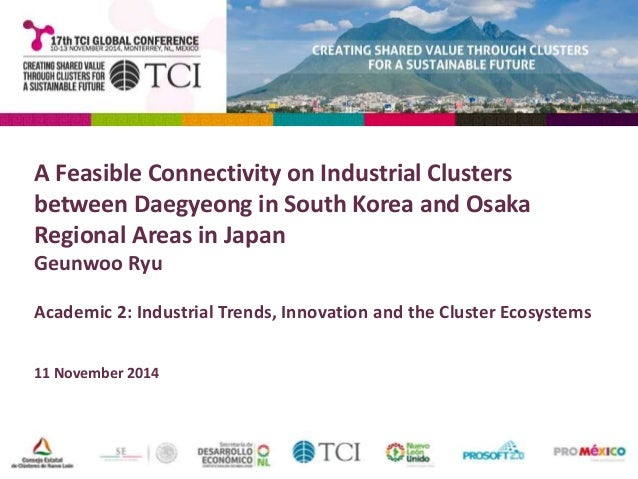 TCI 2014 A Feasible Connectivity on Industrial Clusters between Daegy…