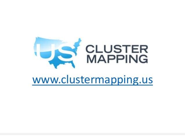 HHH Regionalities Kansas Business Industry Data Center USA Urban - Us cluster mapping