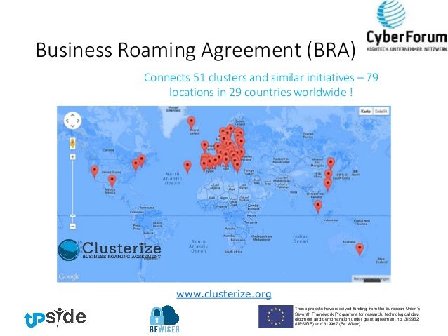 Tci 2015 Business Roaming Agreement As Appropriate Tool For Cluster I