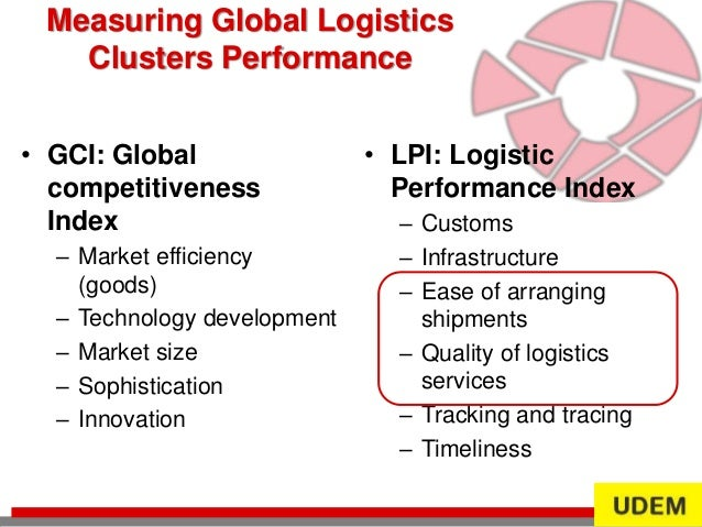 logistics performance index 2016 pdf
