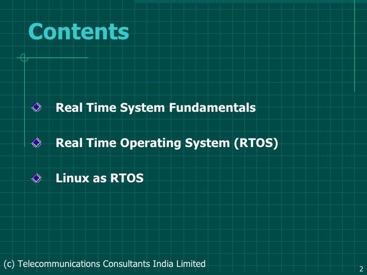 RTOS Slide 2