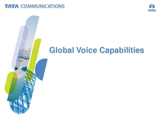 Global Voice Capabilities