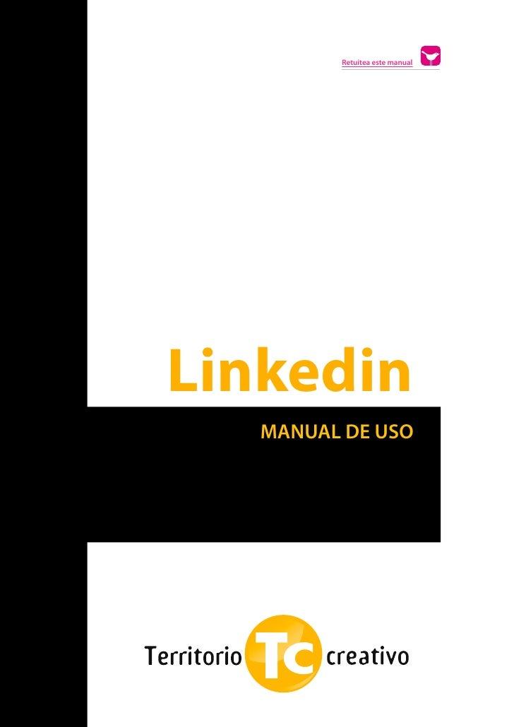 Retuitea este manual    Linkedin       MANUAL DE USOs