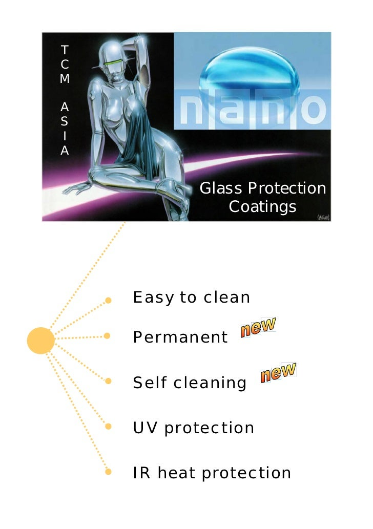 TCMASIA           Glass Protection              Coatings    Easy to clean    Permanent    Self cleaning    UV protection  ...