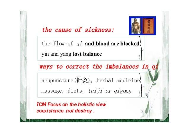 Chinese medicine vs. Western biomedicine