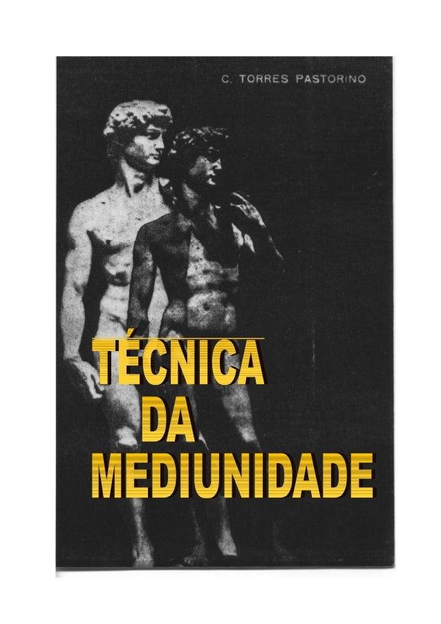 Técnica da Mediunidade 2 C. TORRES PASTORINO TÉCNICA DA MEDIUNIDADE Prefácio do Gen. Dr. Manoel Carlos Netto Souto Capa de...