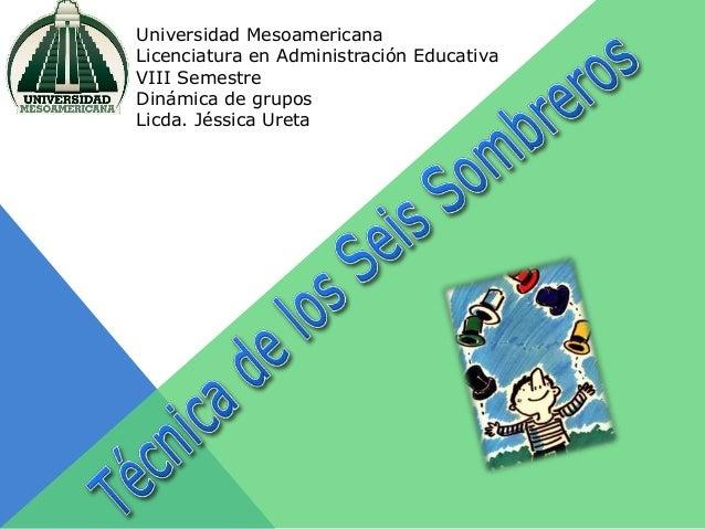Universidad Mesoamericana Licenciatura en Administración Educativa VIII Semestre Dinámica de grupos Licda. Jéssica Ureta