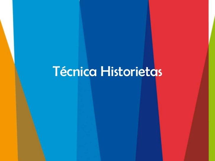 Técnica Historietas