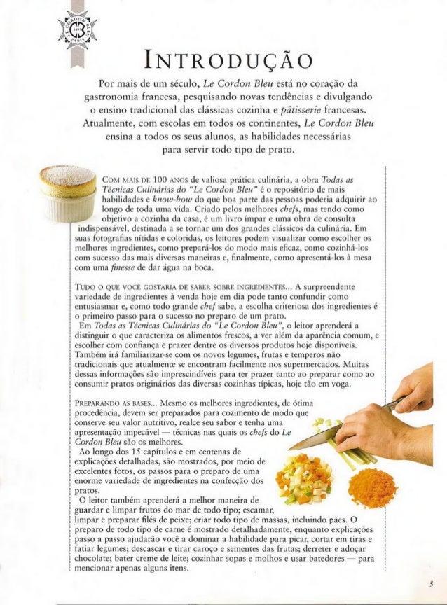 Técnicas culinárias-  Le Cordon Bleu Slide 3