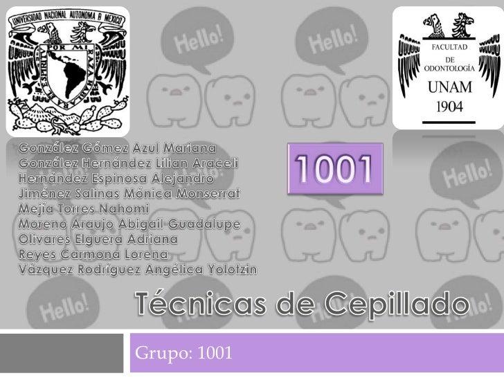 Grupo: 1001