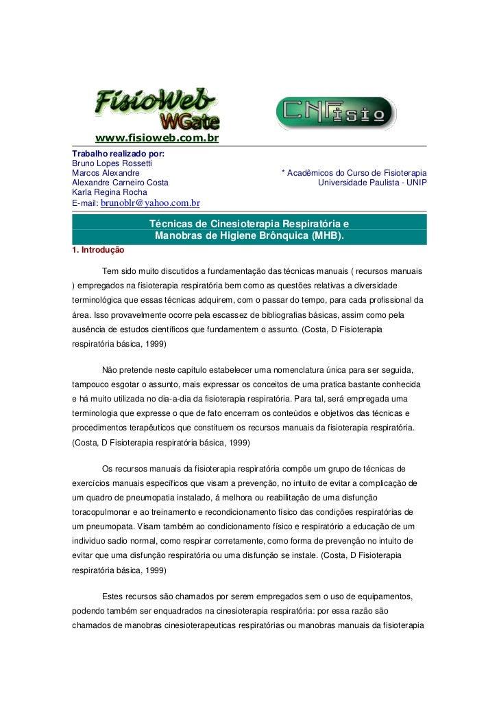 www.fisioweb.com.brTrabalho realizado por:Bruno Lopes RossettiMarcos Alexandre                                         * A...