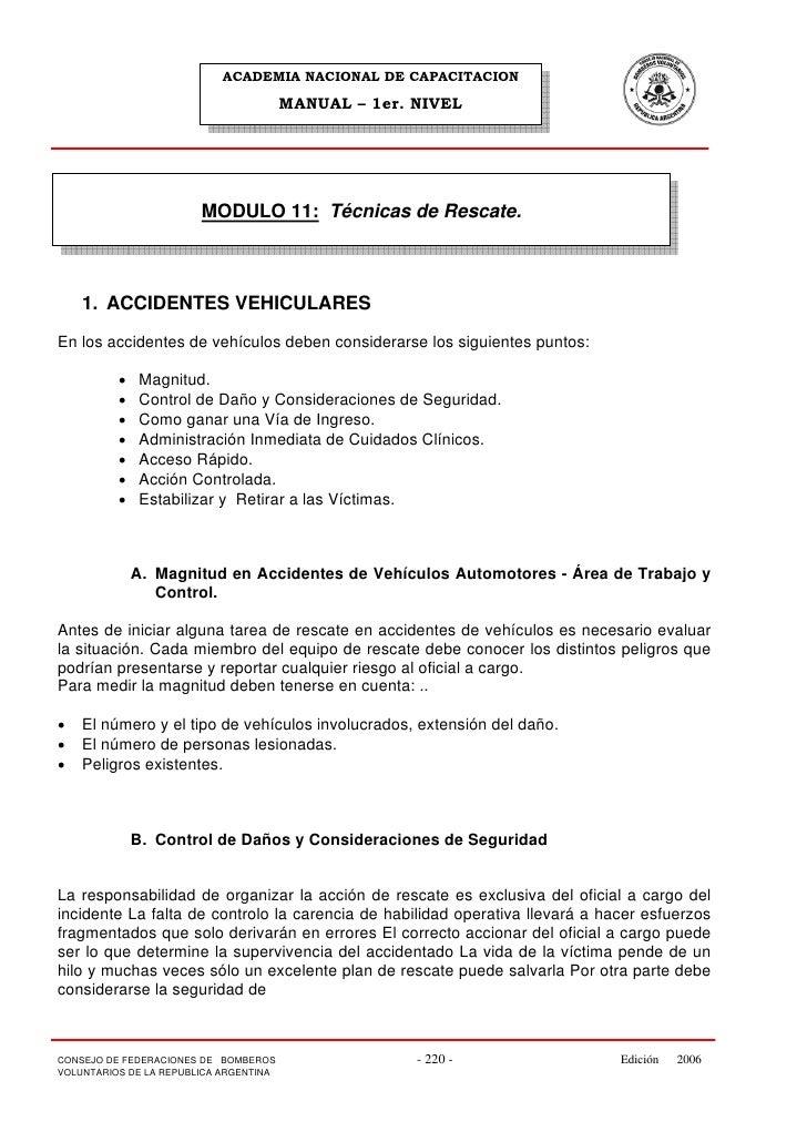 ACADEMIA NACIONAL DE CAPACITACION                                          MANUAL – 1er. NIVEL                            ...