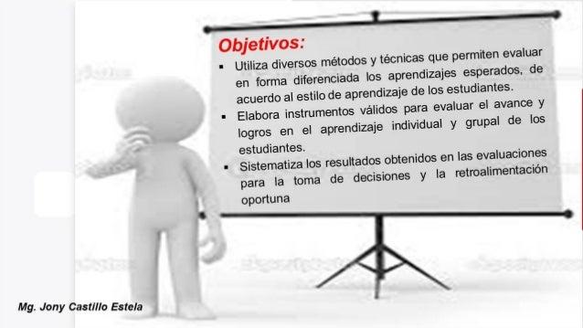 Técnicas e instrumentos de evaluación aprendizajes Slide 2