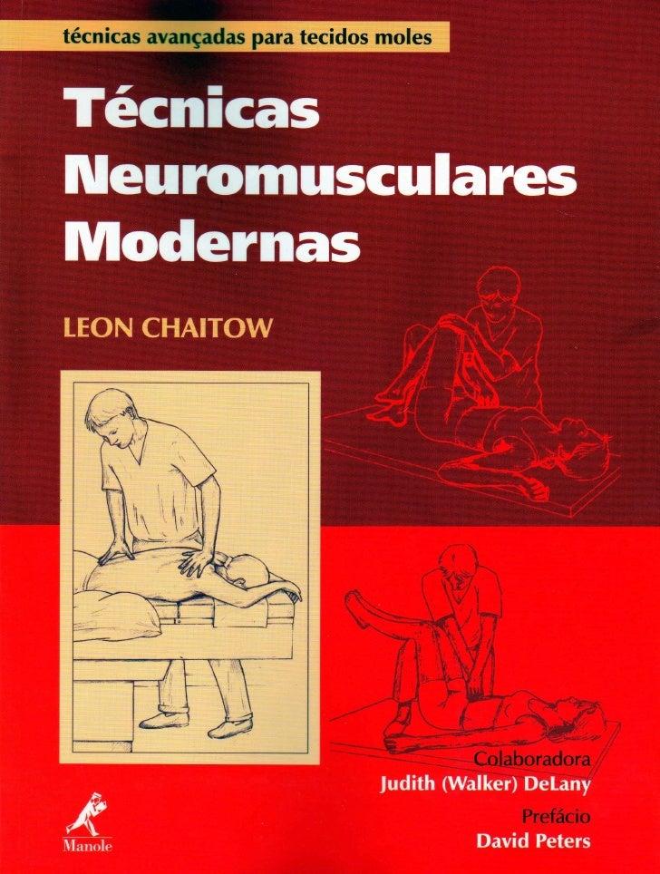 Biblioteca 1 t cnicas neuromusculares modernas for Tecnicas culinarias modernas