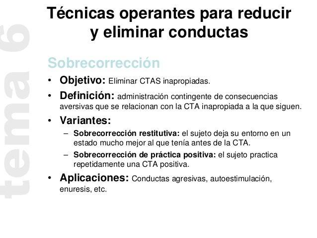 TECNICAS OPERANTES PDF