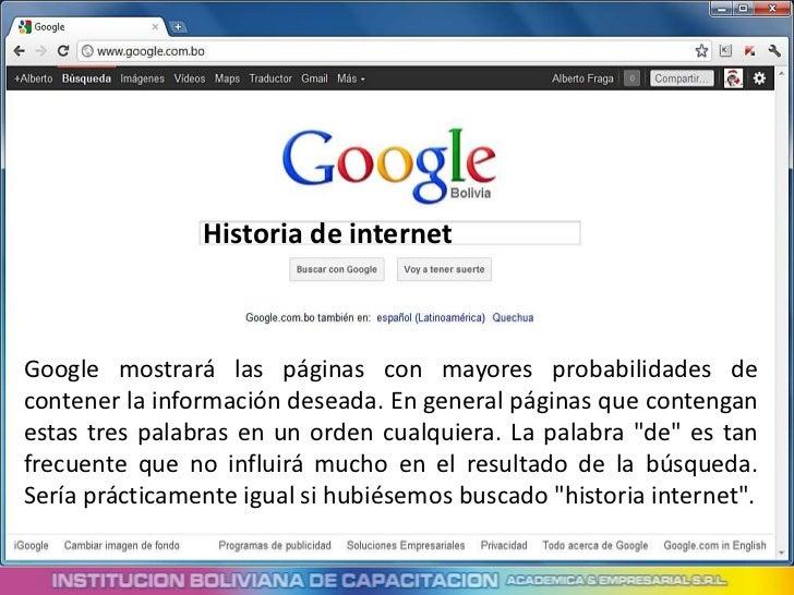 Técnicas para buscar con google Slide 2