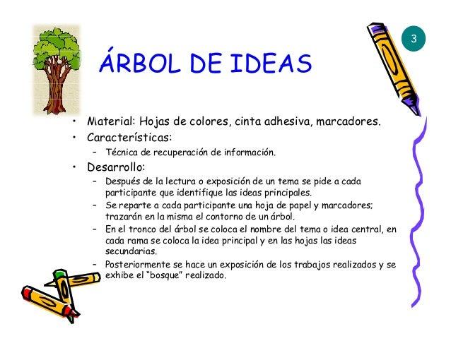 T cnicas ense anza y la escuela dominical for Las caracteristicas de los arboles