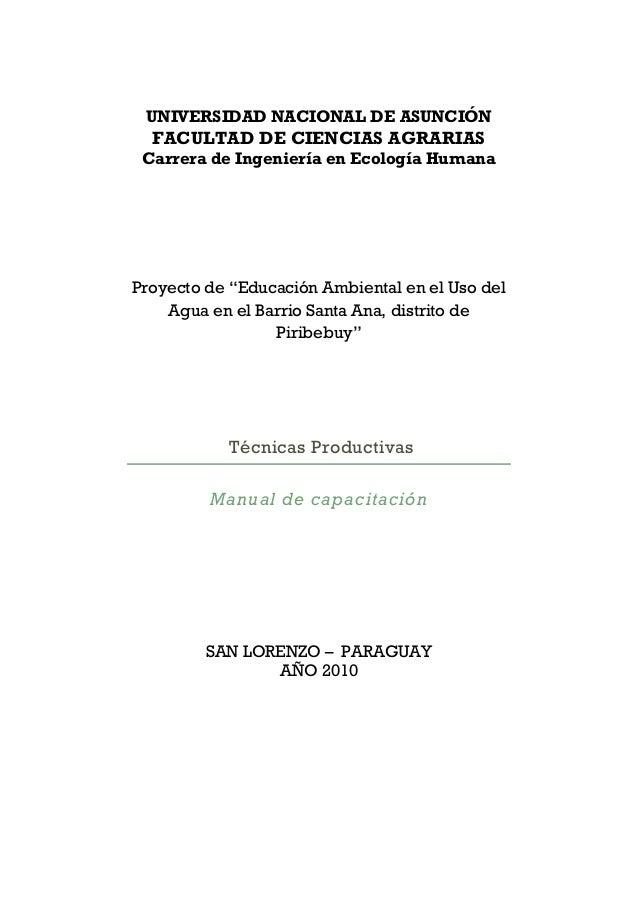Material elaborado por la Carrera de Ingeniería en Ecología Humana Facultad de Ciencias Agrarias Universidad Nacional de A...