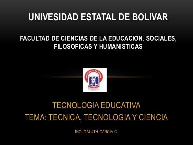 UNIVESIDAD ESTATAL DE BOLIVARFACULTAD DE CIENCIAS DE LA EDUCACION, SOCIALES,          FILOSOFICAS Y HUMANISTICAS        TE...