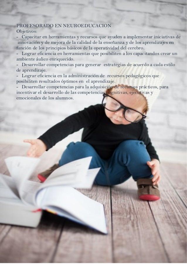 Profesorado En Neuroeducaci U00f3n