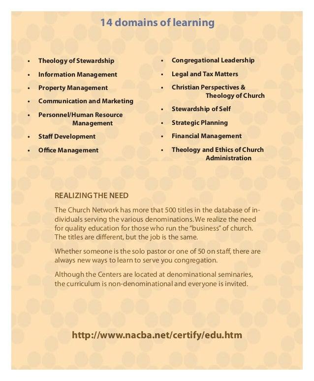certified church administrator church administrator - Church Administrator Salary