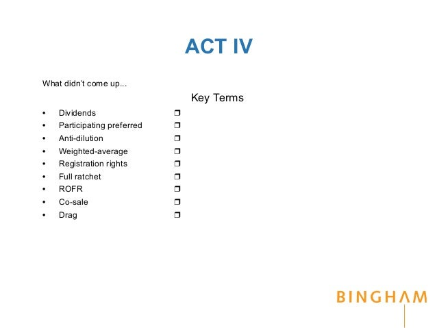 venture capital term sheet template - come to terms with angel and venture term sheets