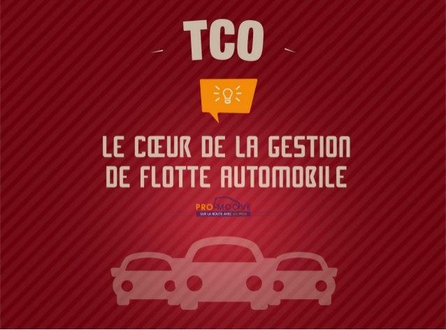 TCO, le coeur de la gestion de flotte automobile - Pro-Moove