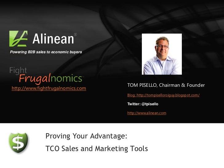 Powering B2B sales to economic buyers                                         TOM PISELLO, Chairman & Founderhttp://www.fi...