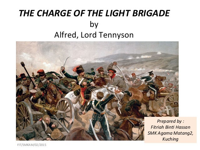 the charge of the light brigade thesis The charge of the light brigade october 1854, the attention of the world's most powerful empire was fixed on the territories of modern-day ukraine.