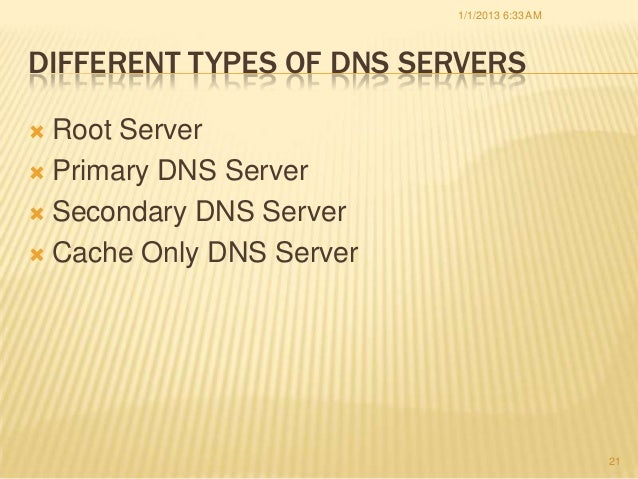 TCP/IP and DNS