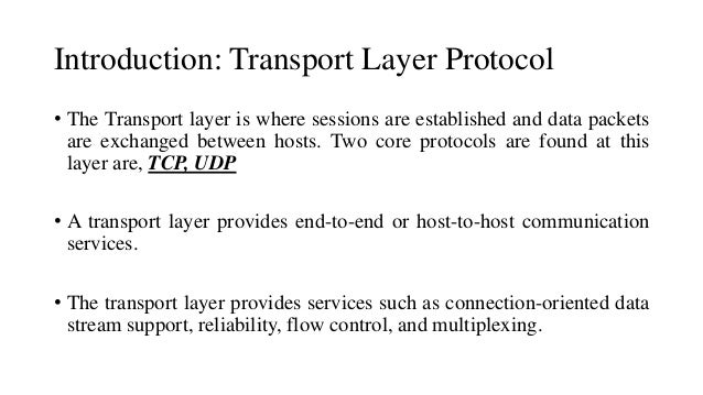 An analysis of the characteristics of tcp ip communications protocol