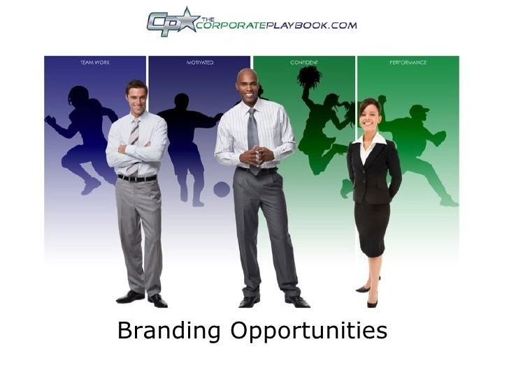 Branding Opportunities