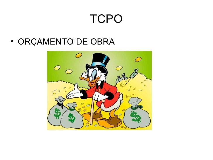TCPO• ORÇAMENTO DE OBRA
