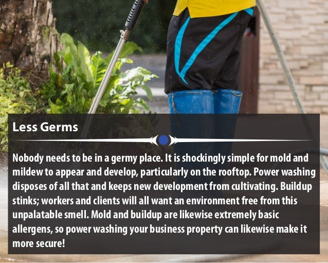 Less Germs Nobody needs to be in a germy place. It is shockingly simple for mold and mildew to appear and develop, particu...