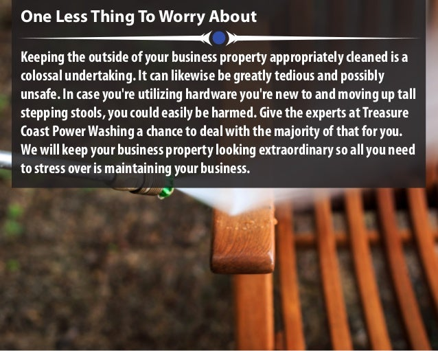 One Less Thing To Worry About Keeping the outside of your business property appropriately cleaned is a colossal undertakin...