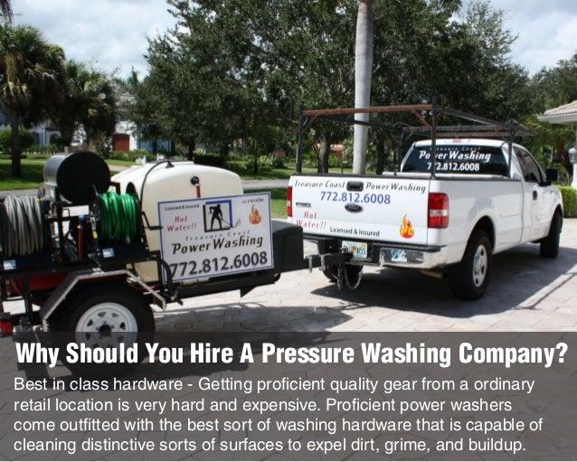 Basic Information on Pressure Washing Slide 2