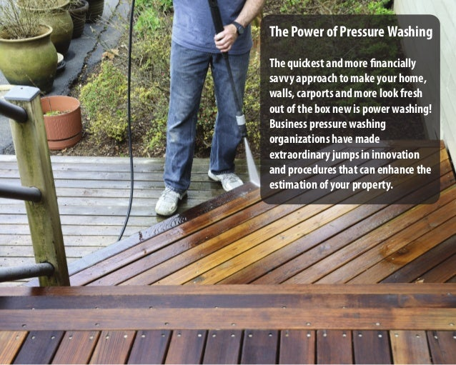 5 Ways Pressure Washing Can Improve Your Property Slide 2