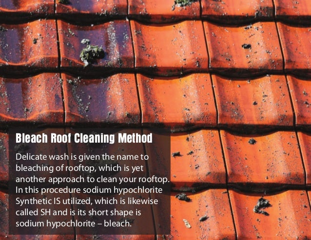Delicate wash is given the name to bleaching of rooftop, which is yet another approach to clean your rooftop. In this proc...