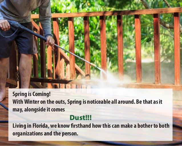 Spring is Coming! WithWinter on the outs, Spring is noticeable all around. Be that as it may, alongside it comes Dust!!! L...