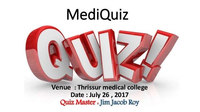Mediquiz , a Medical trivia Quiz