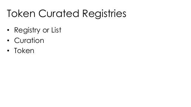 Building DApps based on Token Curated Registries - Gautam Dhameja - Web3Summit Slide 3
