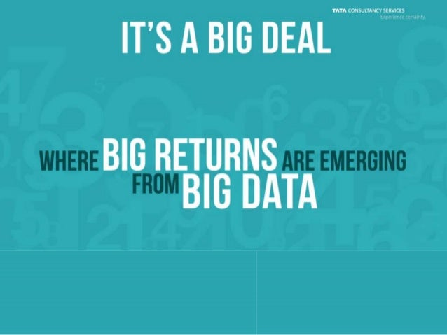The Emerging Big Returns on Big Data