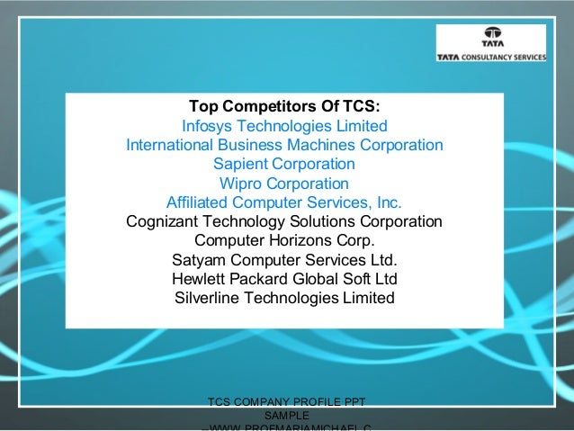 tcs company profile presentation -sample, Powerpoint templates