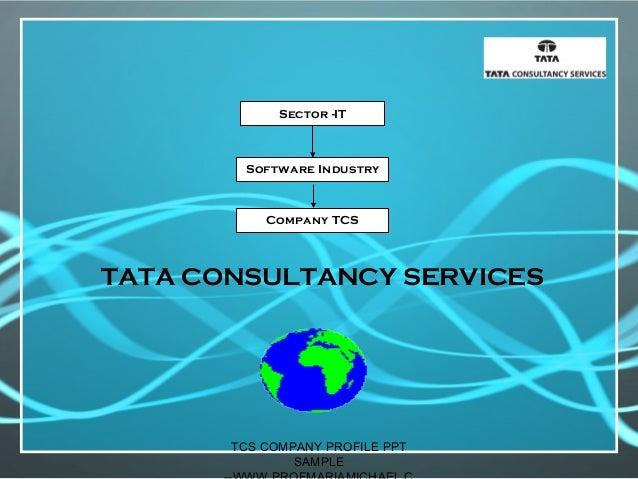Tcs company profile presentation -sample