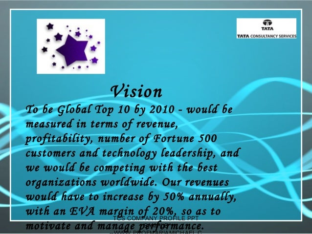 Tcs company profile presentation  -sample Slide 3