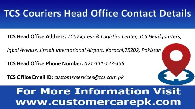 TCS Couriers Customer Care, Phone Number, Office Address, Email ID