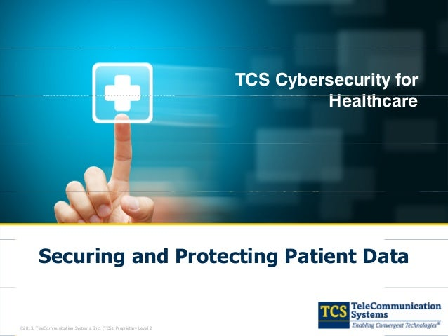 Tcs Cybersecurity For Healthcare