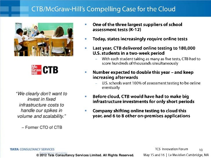 The Case of the $5B Consumer Products Company        Cloud lets its business functions implement new applications without ...