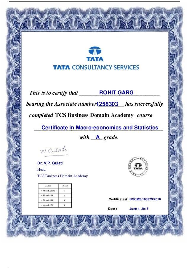 certificate slideshare statistics upcoming macro